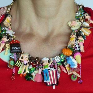 Statement jewelry, statement necklace, Betty Boop